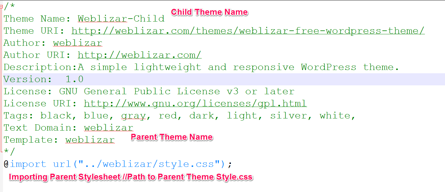 Gmail theme css - Add Screenshot With Resolution Of 880 X 660 Px For Your Child Theme That S It Now Go To Your Wordpress Admin Dashboard You Can See Your New Child Theme