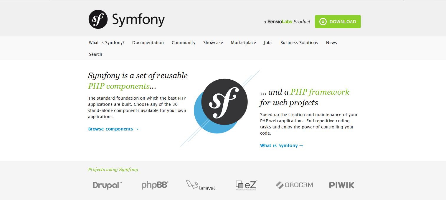 Framework-Symfony