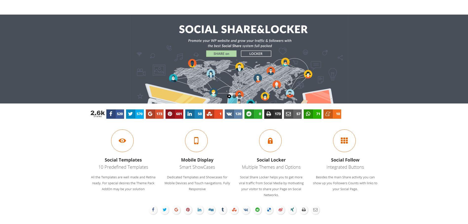 Social Share Locker