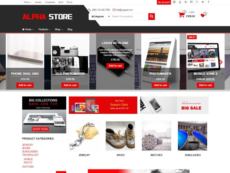 alpha store