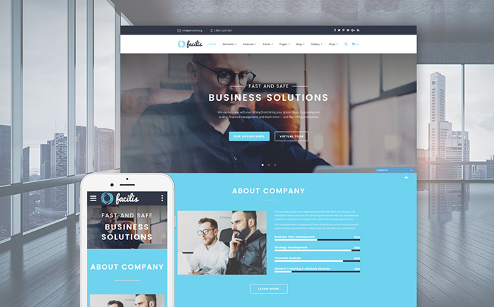 Facilis Website Template