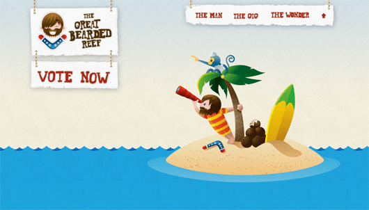 thegreatbeardedreef-illustrated-web-design