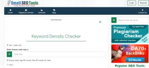 small seo tools Write SEO Optimized Content