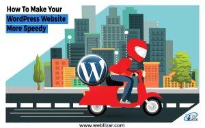 wordpress website faster