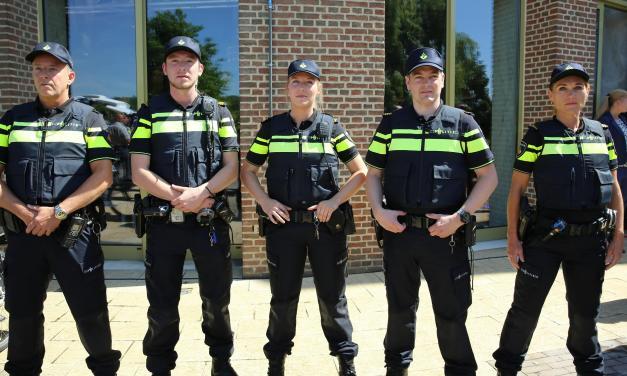 Bij spoed is Staphorster politie vrijwel altijd binnen kwartier ter plaatse