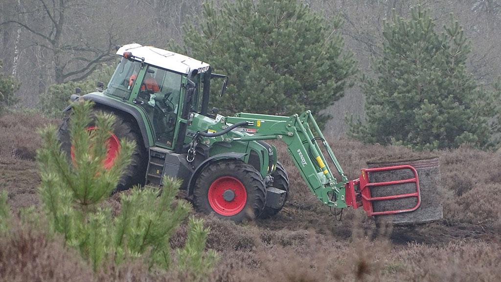 Heide maaien voor meer structuur, Jos Kloppenburg verteld er alles over op het Boswachtersblog