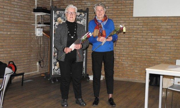 Huldiging twee jubilarissen Vrouwen van Nu