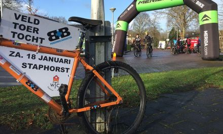 Staphorst overspoeld door 800+ mountainbikers