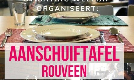 Nog meer Rouveners welkom bij aanschuiftafel bij d'Olde Skoele in Rouveen