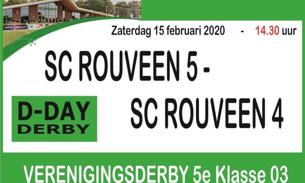 Dorpsderby SC Rouveen