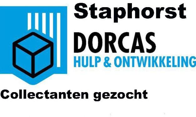Dorcas zoekt collectanten voor Staphorst-Zuid