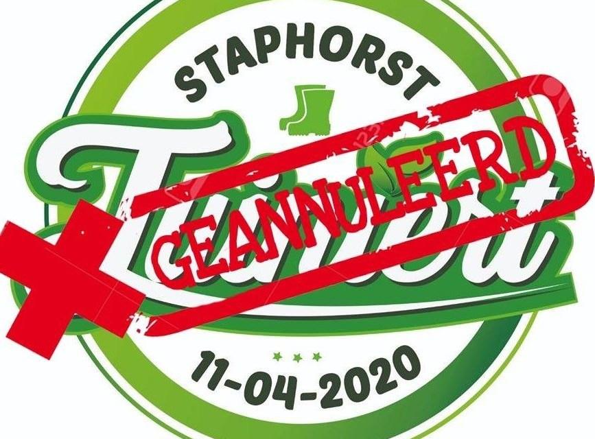Staphorst Tuiniert geannuleerd