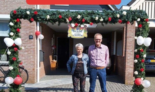 Lambert en Annekie Brand vandaag 40 jaar getrouwd