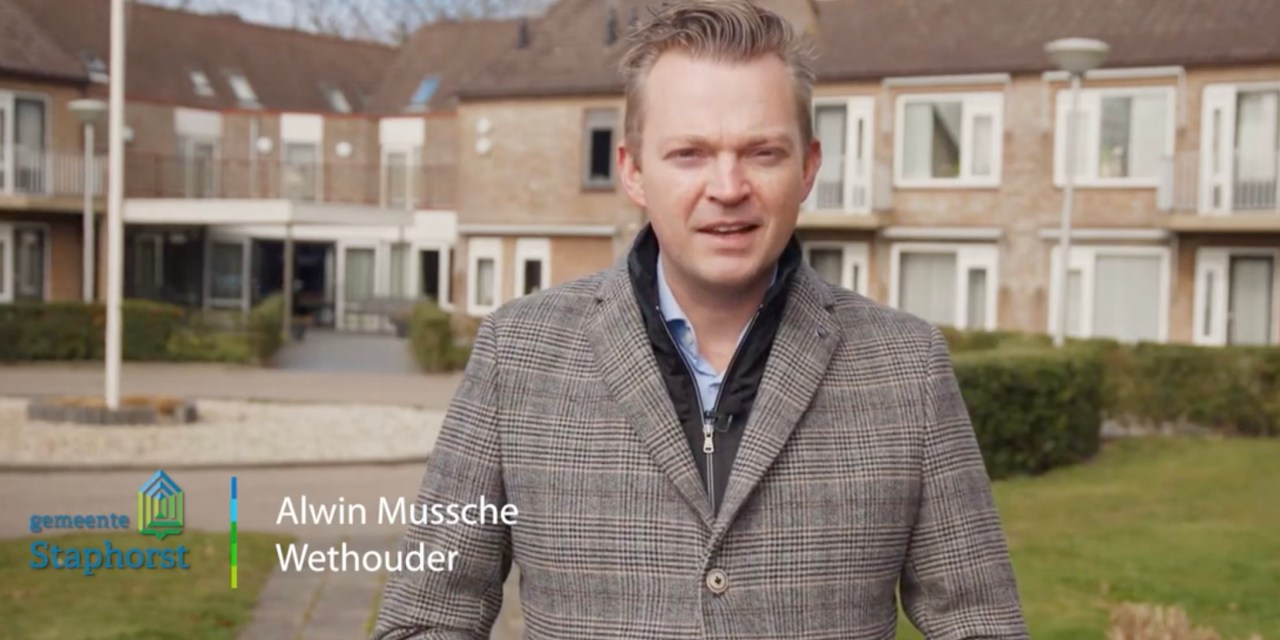 Wethouder Alwin Mussche over corona (video)