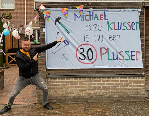Michael Elting 30 jaar