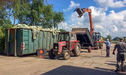 Landbouwplastic en -folie inzameling tot nader order uitgesteld