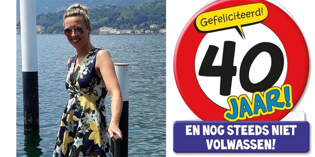 Jeanet 40 jaar