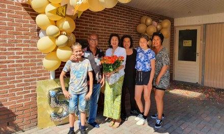 Danny & Octovina Talahatu 50 jaar getrouwd