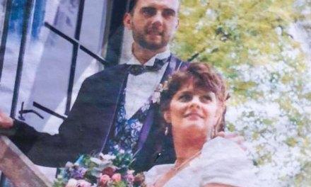 Henk en Truida 25 jaar getrouwd