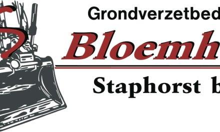 Grondverzet Bloemhof Staphorst bv gestart met onderhoud zandwegen