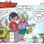 Joachim door Ed Perdok: …ook bij verplichte mondkapjes een beetje creatief zijn, toch…