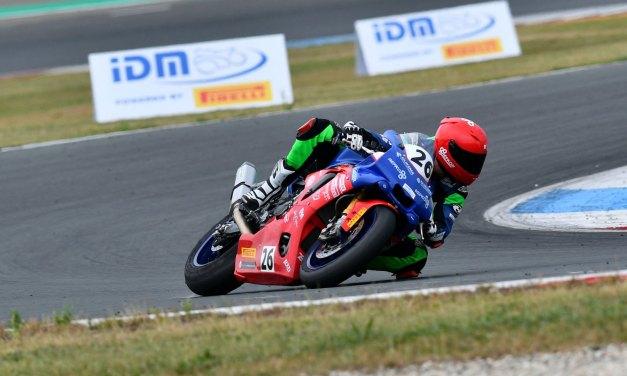 Leerzaam IDM Superbike debuut voor Nieman