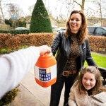 Vrijwilligers in Staphorst halen groot bedrag op voor onderzoek naar spierziekten