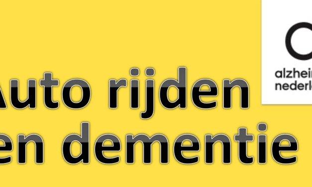 Autorijden en dementie, informatieavond