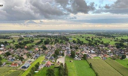 Prachtige foto's vanuit Hendrikjan luchtballon boven Staphorst