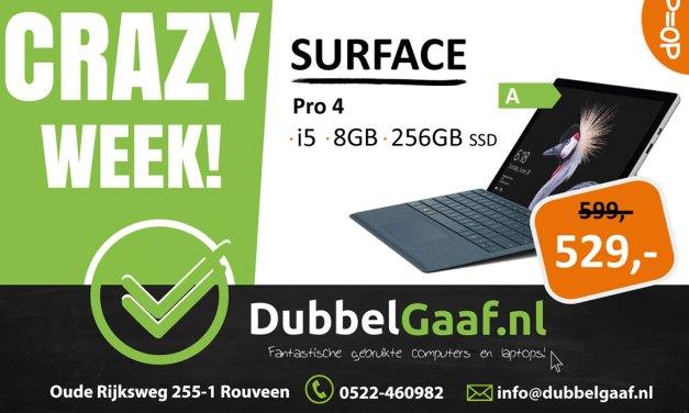 Crazy Week bij Dubbelgaaf
