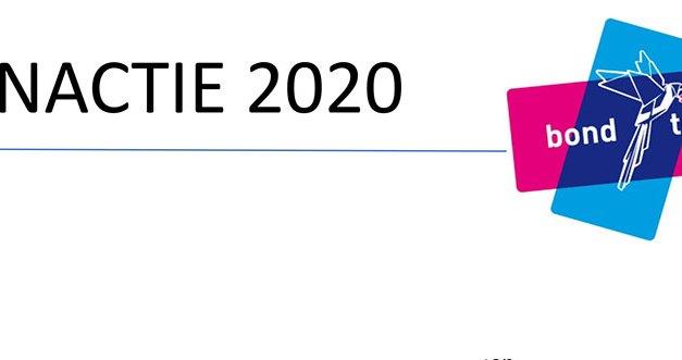 Vlaaienactie 2020 Bond tegen Vloeken