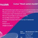 Start cursus 'Maak Samen Muziek' in Rouveen/Staphorst