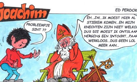 """Joachim door Ed Perdok: …was dit dan de laatste Sinterklaas en is het """"ze"""" ( misschien 0,5% van onze bevolking) gelukt, om dit traditionele kinderfeest om zeep te helpen..???.."""