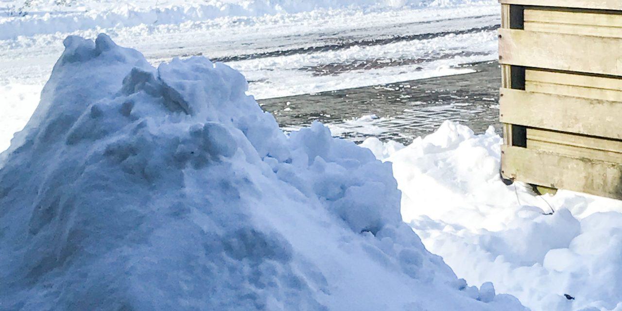Sneeuw (ijs) ballen harder dan je denkt