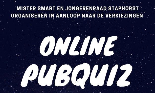 Online pubquiz door de Jongerenraad