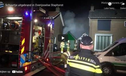 Schuurtje uitgebrand aan Oranjestraat