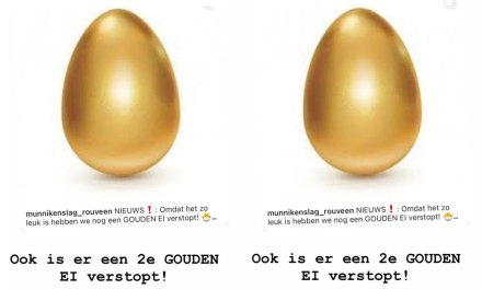 GOUDEN EI verstopt in de kern van Rouveen (update – ei gevonden) nog een ei?
