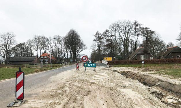 Fietspad Kanlaan-Evenboersweg deel 2 met gang
