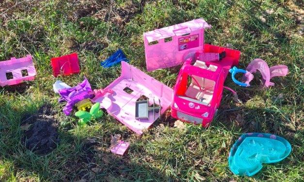 Speelgoed (j/m) gevonden