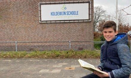 Gerson van der Maaten van De Koldewijn Schoele in Kamperveen en Lionne Postuma van de Marnixschool in Kampen winnen regionale finale van Nationale Voorleeswedstrijd!