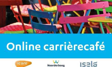 Icare, Noorderboog en Isala organiseren online Carrièrecafé
