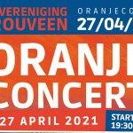 Oranjeconcert live te volgen