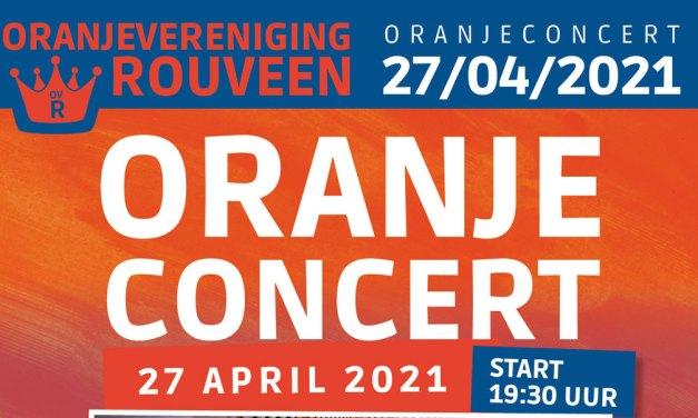 Oranjeconcert live te volgen (start 20.00 uur)