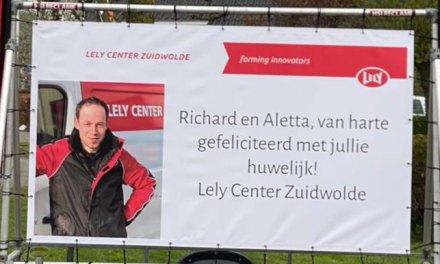 Richard Klomp en Aletta Huls zeggen JA!