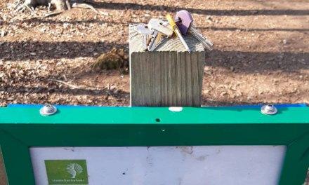 Sleutels gevonden bij hondenlosloopgebied
