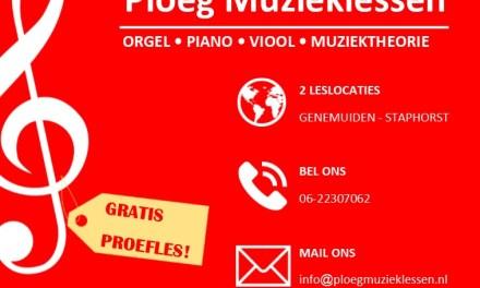 Voor het nieuwe seizoen 2021-2022 kunnen we weer nieuwe leerlingen plaatsen voor orgel- piano- en vioolles.