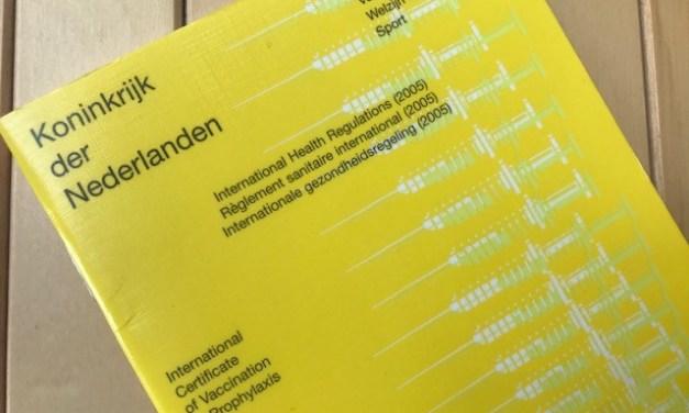 Woensdag en donderdag open inloop voor registratie gele boekje