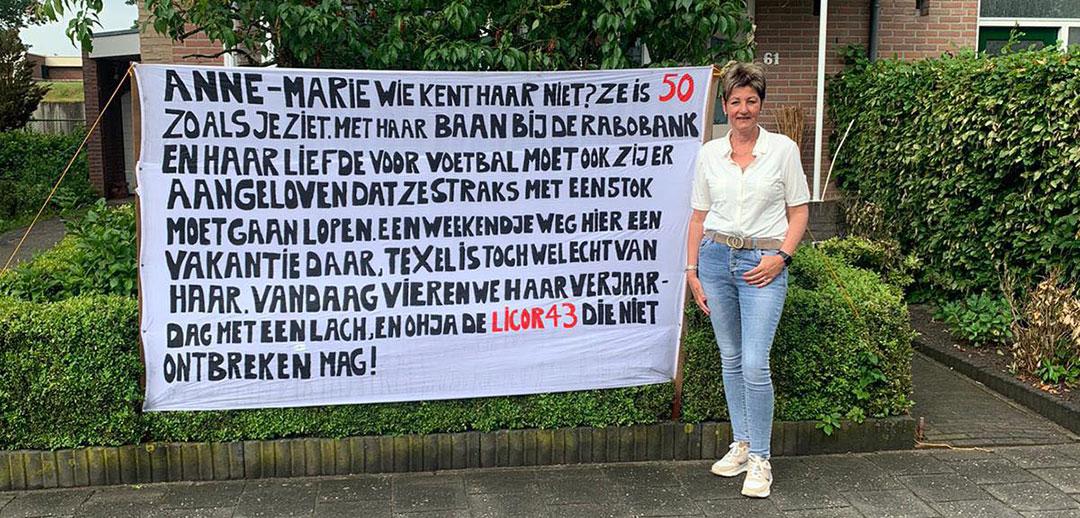 Hoera! Anne-Marie 50 jaar