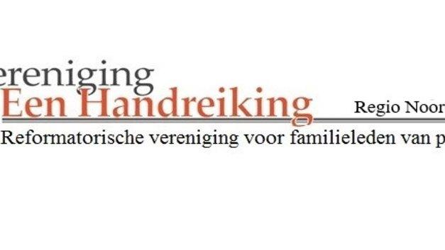 Vereniging Een Handreiking Regio Noord organiseert een online-avond