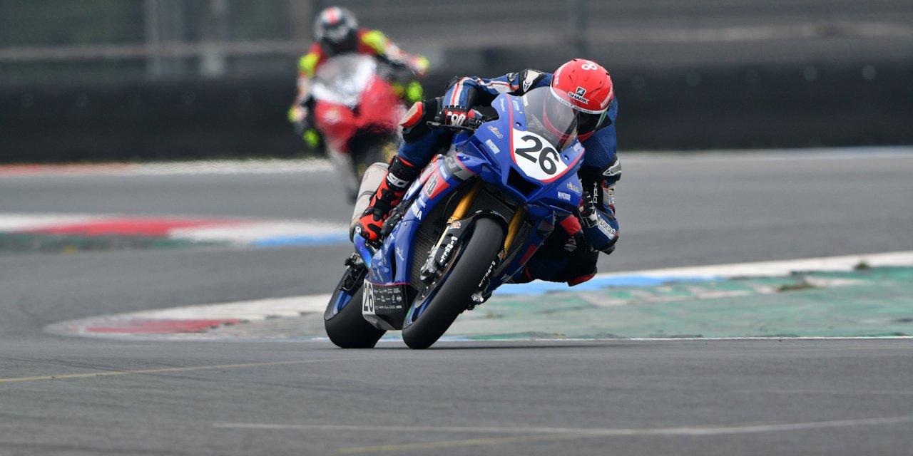 Nieman opent Dutch Superbike seizoen met podiumplaats